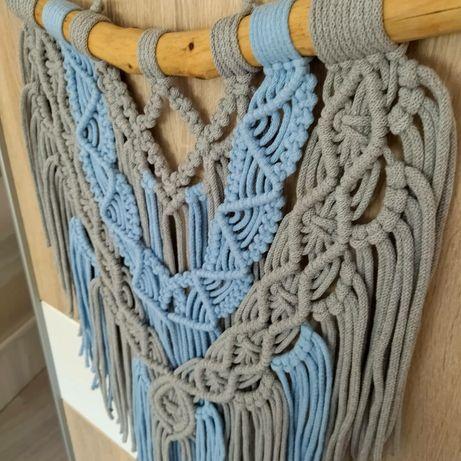 Makrama dekoracja ścienna ozdoba ze sznurka