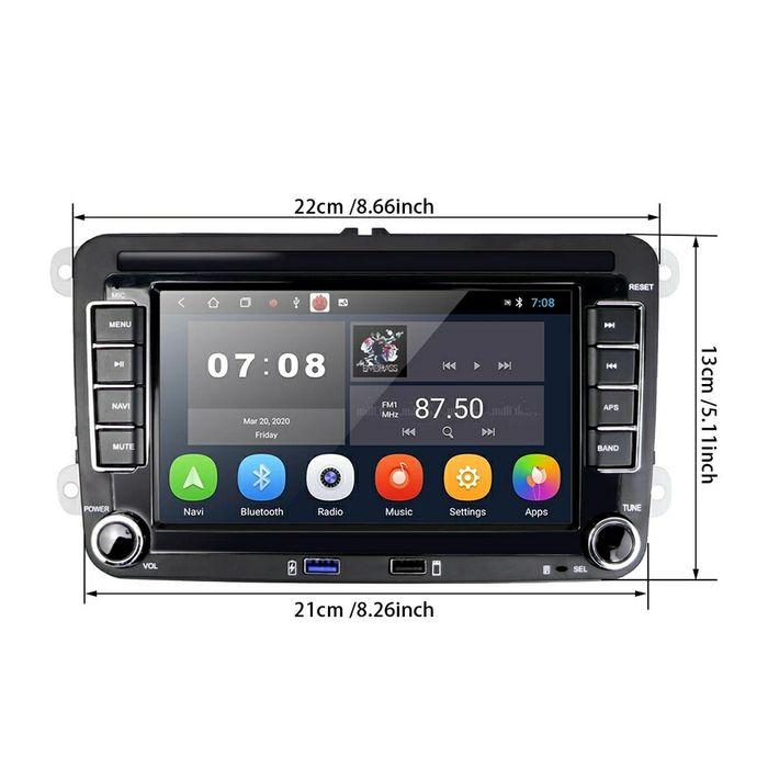 Radio Nawigacja Android 10 GPS 2 Din Radio samochodowe Autoradio dla Pcim - image 1