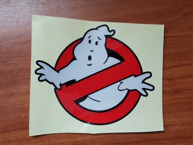 Наклейка ноутбук авто jdm стикер Охотники за привидениями Ghostbusters