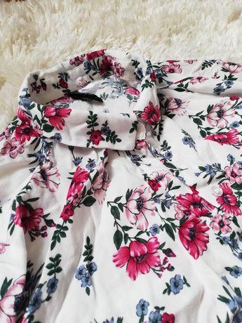 Koszula w kwiaty XS 34