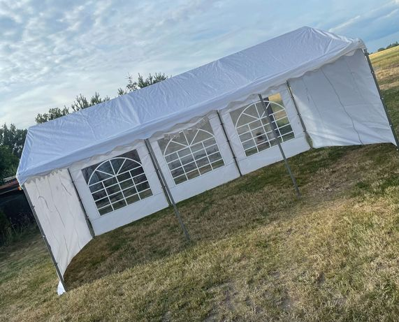 Wynajem namiotu imprezowego, namiot ogrodowy, stoły, ławki, głośnik