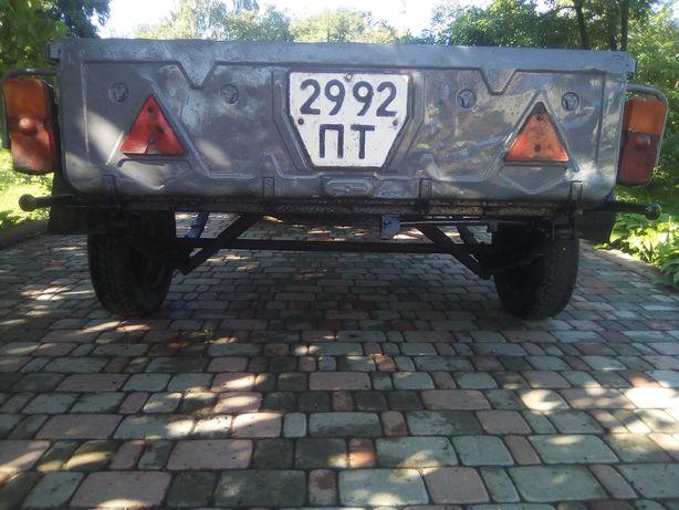 Продам прицеп к легковому автомобилю КРАЗ 7500грн.