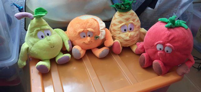 Peluches frutas lidl