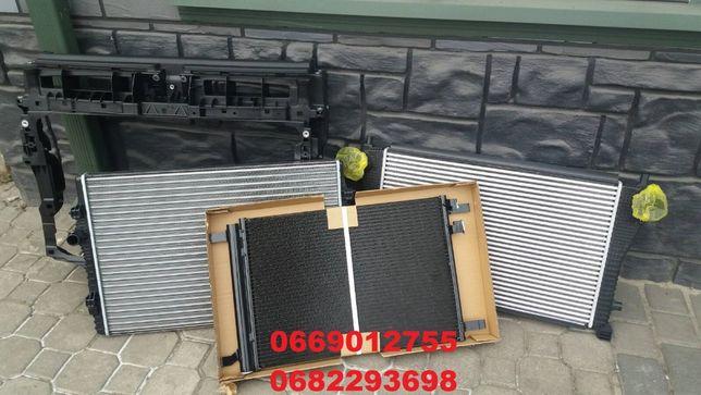 Радиатор охлаждения интеркулер кондиционер телевизор VW TIGUAN 16- USA
