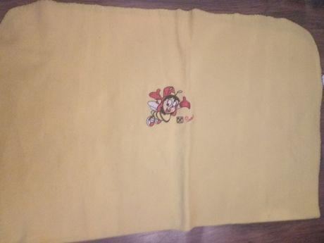 kocyk milutki żółty