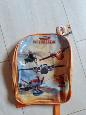 Plecak Samoloty , czapka z daszkiem