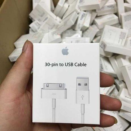Кабель, шнур, зарядка 30-pin USB для iPhone 4, 4s, iPad 1,2,3(Foxconn)