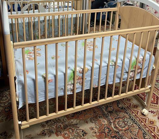 Фірмове ліжечко TRAMA з матрасиком та ПОДАРУНКОМ