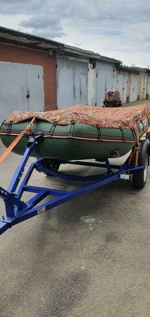 Лодка kolibri мотор Suzuki 15 лафет эхолот