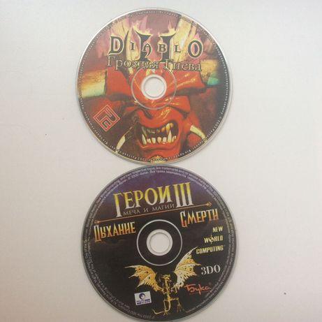 Продам игры на дисках