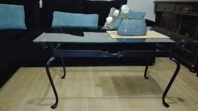 Ława stół ręcznie kuty