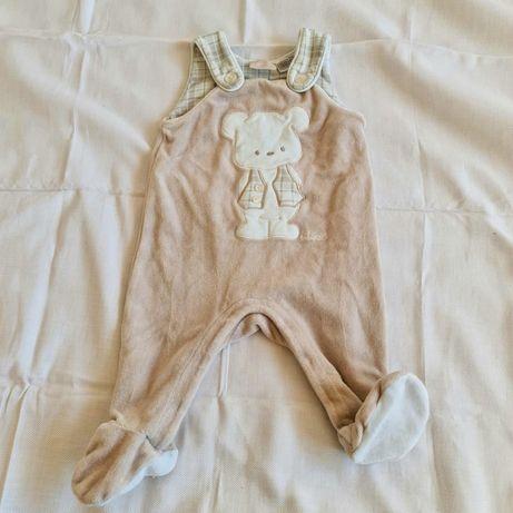 Roupas de bebé menino (0-4 meses)