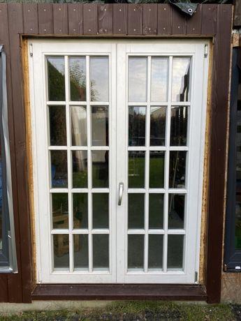 Okno drzwi drewniane okazja