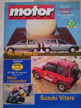 Tygodnik Motor Nr 13/93