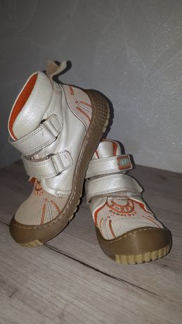 Кеды Kemal pafi кожаные деми ботинки кроссовки весна осень