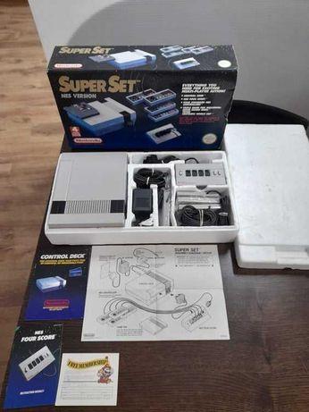 Nintendo NES Super Set em caixa