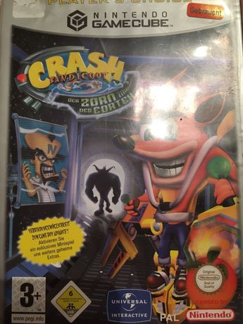 Crash Bandicoot Nintendo gamecube