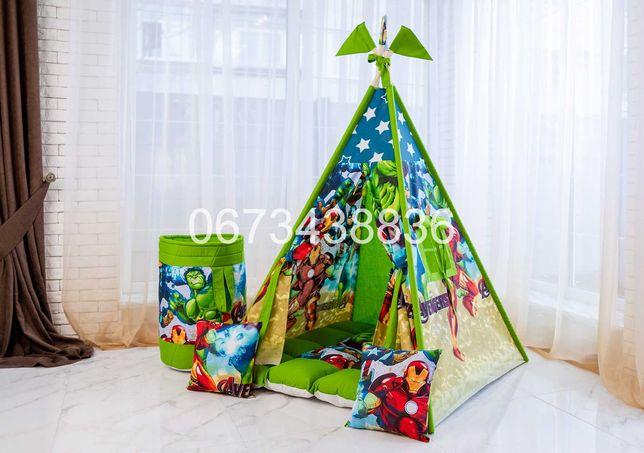 АКЦИЯ! Палатка Вигвам «MARVEL» Зеленый. В наличии! VIGVAM ELIT