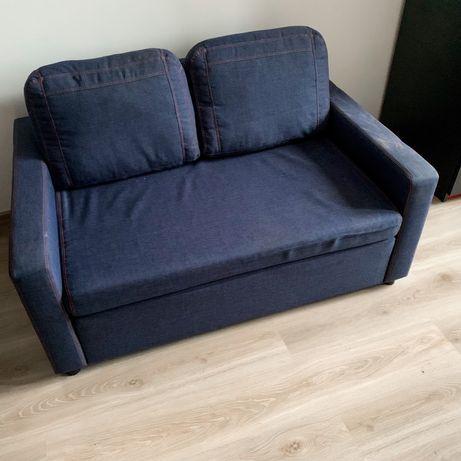 Dwuosobowa jeansowa sofa VOX