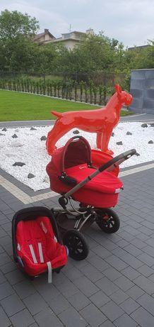 Quinny moodd 3w1 wózek dziecięcy gondola spacerówka nosidełko maxi Cos