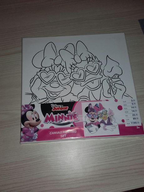 Obraz do samodzielnego malowania zestaw kreatywny Disney Minnie