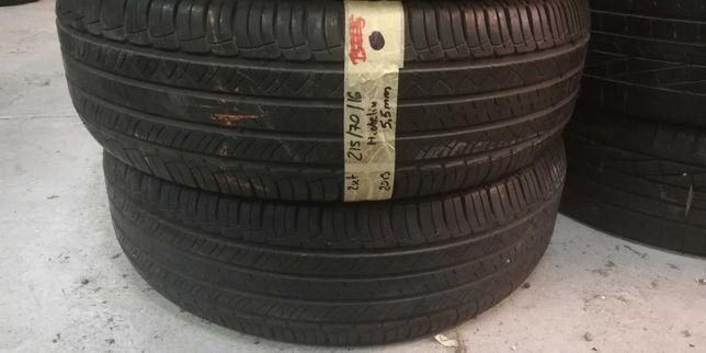 215 70 R16 Michelin 2szt. z Niemiec NAJTANIEJ lato LUMI