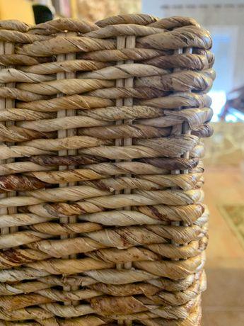 Cadeiras de jantar em ratin