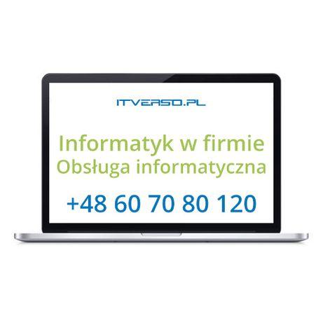 Usługi informatyczna dla firm - Informatyk w firmie - Outsourcing IT