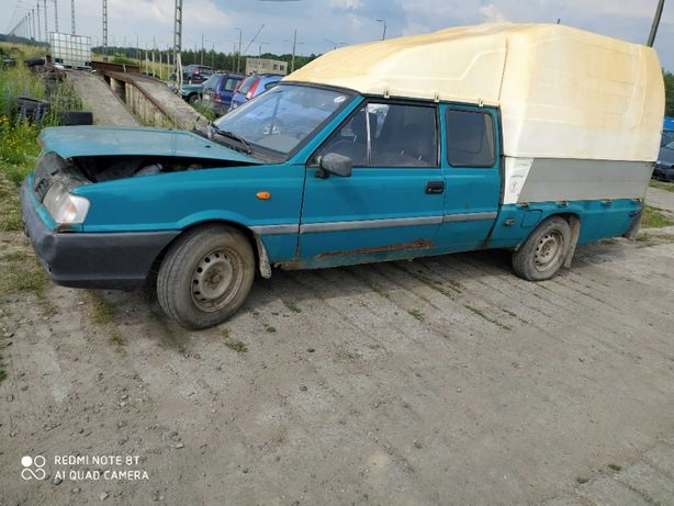 Polonez Truck tylna zabudowa nadkola