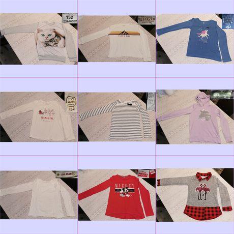 Ubrania dla dziewczynki 152/158