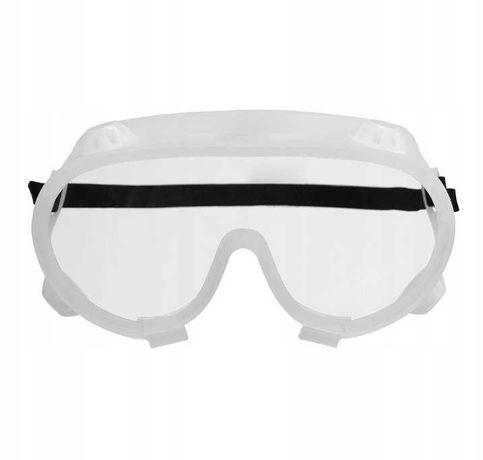 Okulary ochronne  Gogle z otworem filtracyjnym, pyłoszczelne