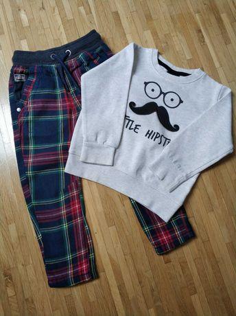Zestaw Next 92 cm, bluza, spodnie chłopięce