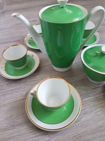Zielony zestaw kawowy Włocławek