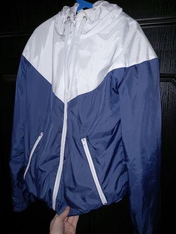 Nike на флисе, куртка-ветровка
