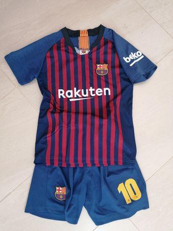 Strój piłkarski r. 134-140
