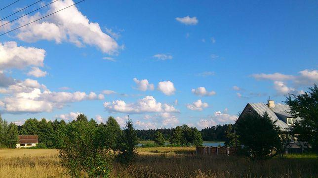 Działka nad jeziorem - Walne gmina Nowinka