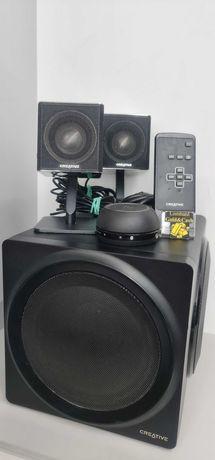 Zestaw głośników bezprzewodowych Creative  Labs T4 ( MF0430) + pilot