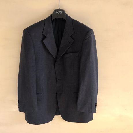 Пиджак (блейзер) Hugo Boss синего цвета