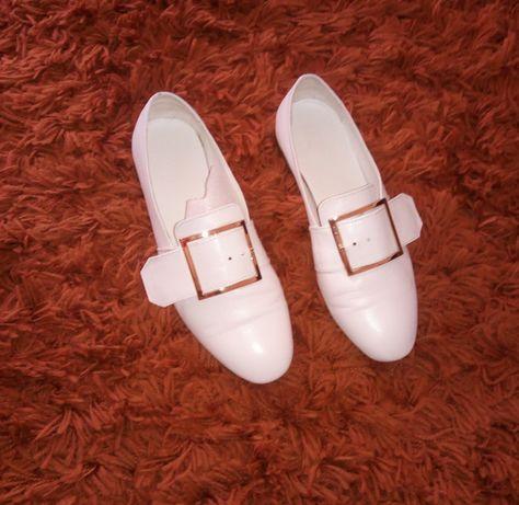 Туфли лоферы кожаные р.36