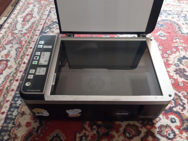 Принтер цветной, чёрна-белый hp