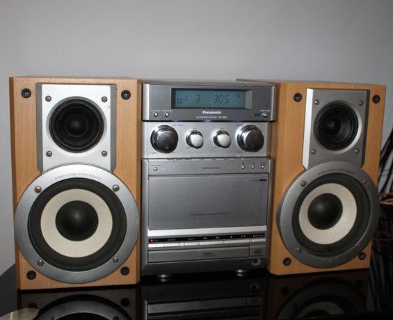 PANASONIC Wieża stereo hi-fi Tuner fm/ am CD kaseta AUX optyk Wysyłka