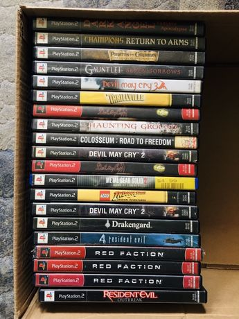 Gry Playstation 2 PS2 NTSC 20 gier