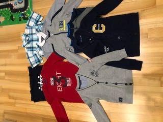 Bluzy, sweterki, koszulki - chłopiec 116