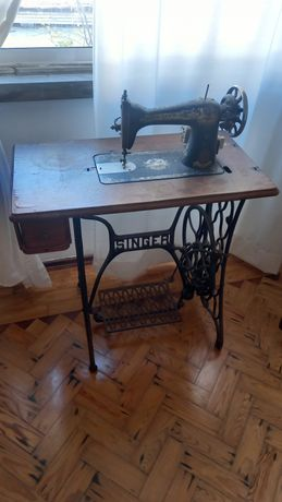 Máquina de custura singer - vintage