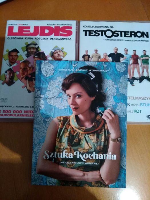 Testosteron, Lejdis, Sztuka kochania filmy dvd Ruda Śląska - image 1