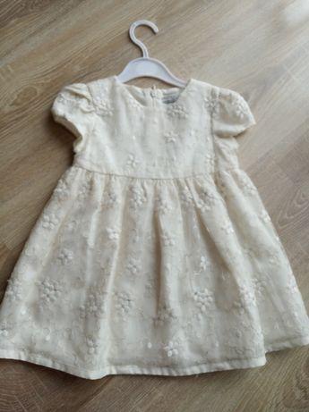 Нарядное платье для девочки фирмы Mayoral