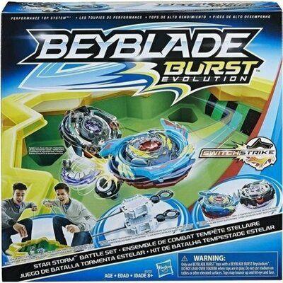 Арена и два волчка Hasbro Beyblade Burst Evolution Star Storm Battle
