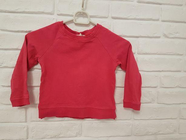 Bluza różowa H&M 2-4 lata 98/104 cm