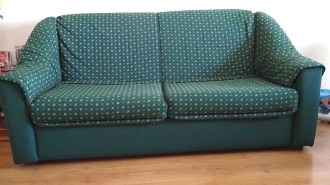 Conjunto de 2 sofás-cama 3 lugares cada.