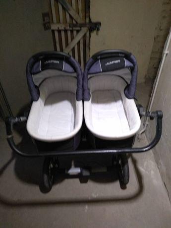 Wózek bliźniaczy Tako Jumper Duo 3 w 1